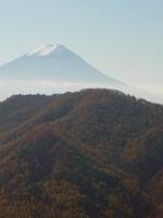 山頂より富士山