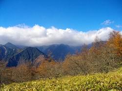 夜叉神峠からの白根三山