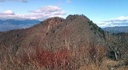 山頂よる金ガ岳