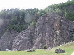ガイアンの岩場